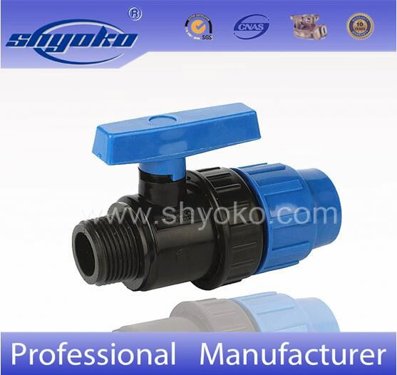 Male&Female Plastic Single PVC Union Ball Valve for Agriculture