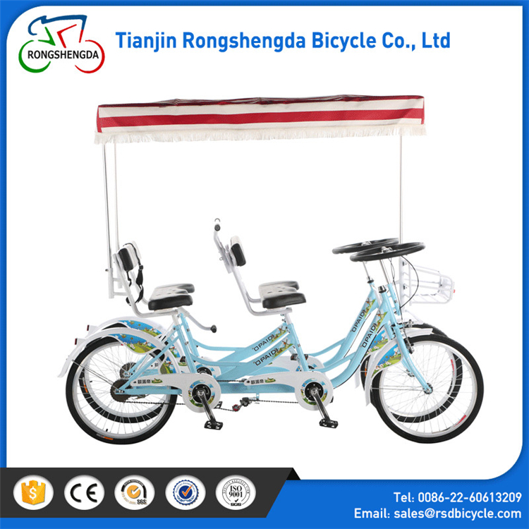 sightseeing bicycle tandem bicycle for touring / used Tandem bicycles for sale in dubai /3 person tandem bikes