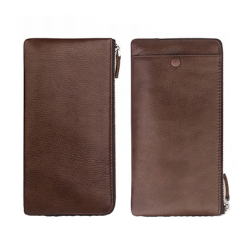 ODM / OEM Wholesale Genuine Leather Protective Pouch For iphone 7 / 7 Plus Cover , Wallet Money Purse For iphone 7 / 7 Plus Case