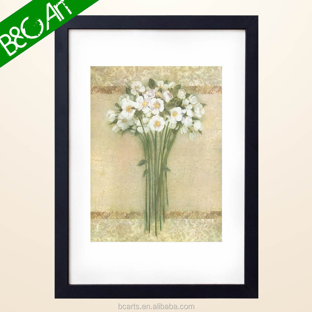 ZS(018) Da Fen Abstract Flowers Textured Canvas Art