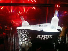 rechargeable led lighting belvedere vodka bottle ice bucket