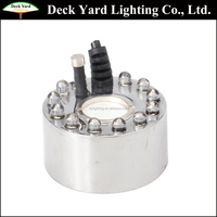 12-LED Colorful Light Led Ultrasonic Mist Maker Fogger For Water Fountain Pond Mist Fogger Maker Air Humidifier