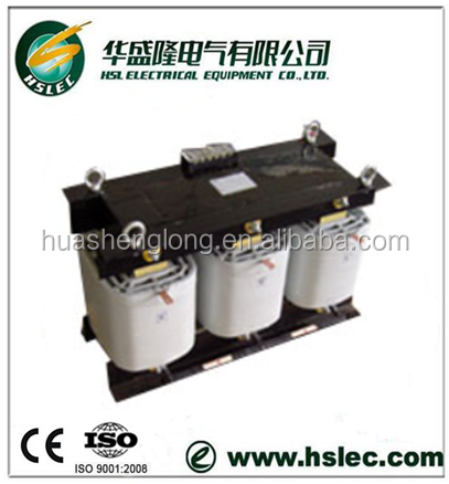 3 phase isolation and control transformer 380v to 220v