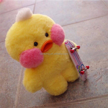 wholesale INS Hot Hyaluronic acid yellow duck plush toy mini kids toy
