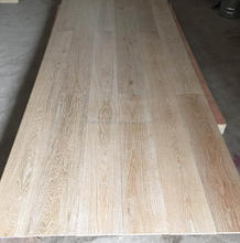 Low cost 10mm thickness Common Grade limed oak engineered flooring