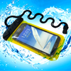 PVC cute colors waterproof smartphone pouch