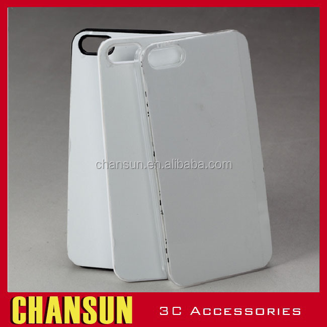 2D sublimation Blank Plastic Case for iPhone5/6,printable mobile case for apple 6