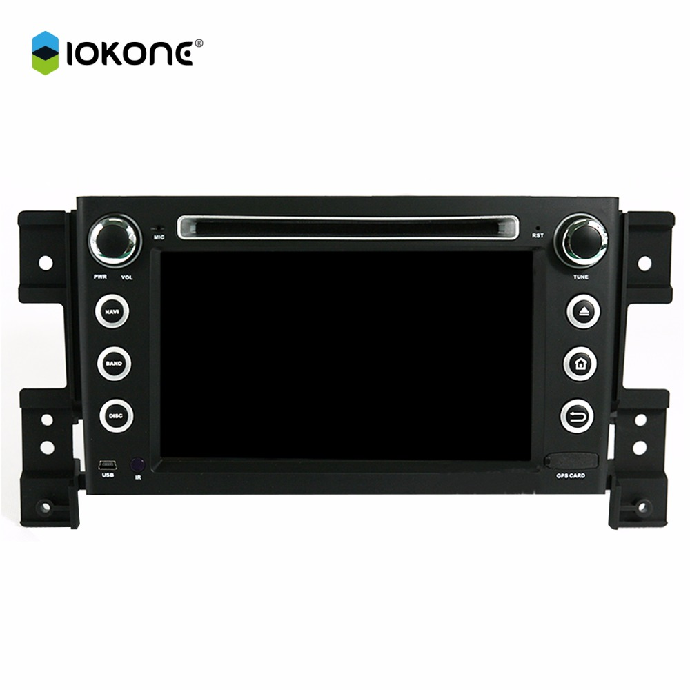 Special 7'' touch screen 2 din car dvd gps navigation system for suzuki grand vitara