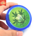 2017 Custom Plastic 3 Parts Acryltc Herb Grinder Wholesale