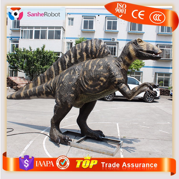 Sanhe Newly Supply Life-size Realistic Motorized Metal Dinosaur
