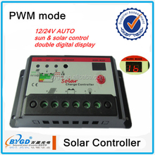 10A Solar Panel Charge Controller with MPPT Function (12V/24V)
