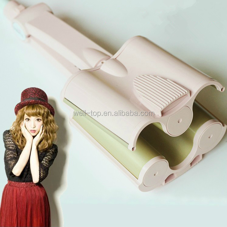 Ceramic Hair Curler 5 Barrels Big Hair Waver Curling Iron Hair Curlers Rollers Styling Tools