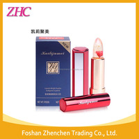 Original Kailijumei gold fleck and flower jelly lipstick with MSDS