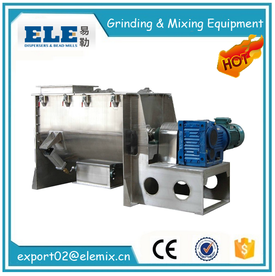 stainless steel Horizontal Ribbon Mixer/paddle mixer
