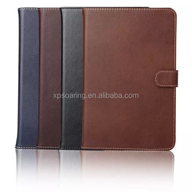 Real leather case for ipad mini 4, for ipad mini 4 credit card flip case, for ipad mini 4 flip genuine case