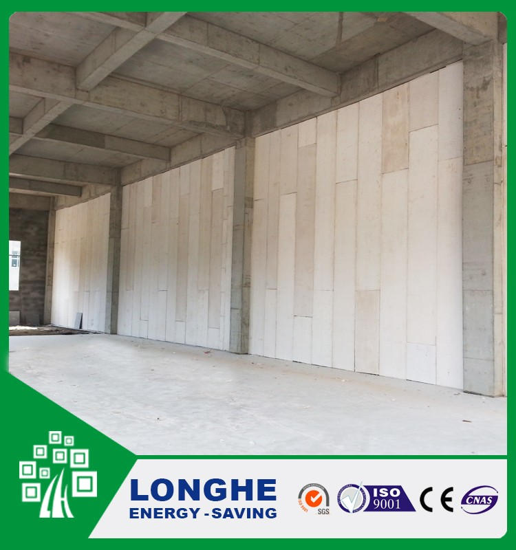 Low Cost Prefabricated House Wall Panel Precast Fiber Cement Eps Sandwich Panel In Hubei