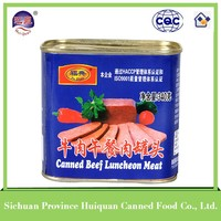 Wholesale china products canned meat products beef luncheon meat