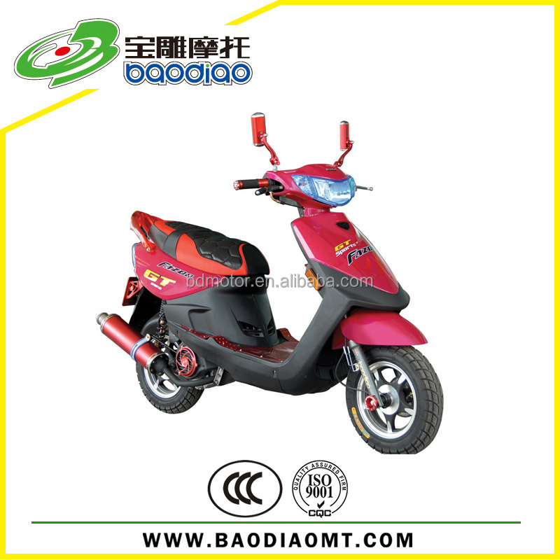 2015 Gas Scooter Street Bike Chinese Cheap 4 Stroke Engine Gas Scooters 50cc Motorcycles For Sale China Manufacture EEC EPA DOT