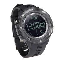 PyleSports Digital Multifunction Active Sports Watch with Altimeter (Black)