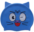 Cat Shape Waterproof Silicone Swimming Caps