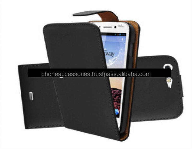 Wallet Leather case with stand for Wiko cink plus, iPhone 6, iPhone 5 and iPhone 4 and for Samsung S5 and Note 3