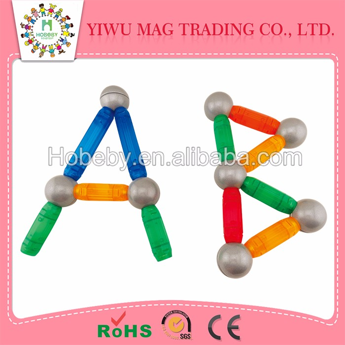 Wholesale Alibaba animal magnetic sticks and educational wooden toys
