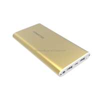 Mobile power banks 10000mAh OEM&ODM support smartphone&USB devices power bank