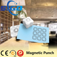 SG-6616 magnetic paper punch shapes