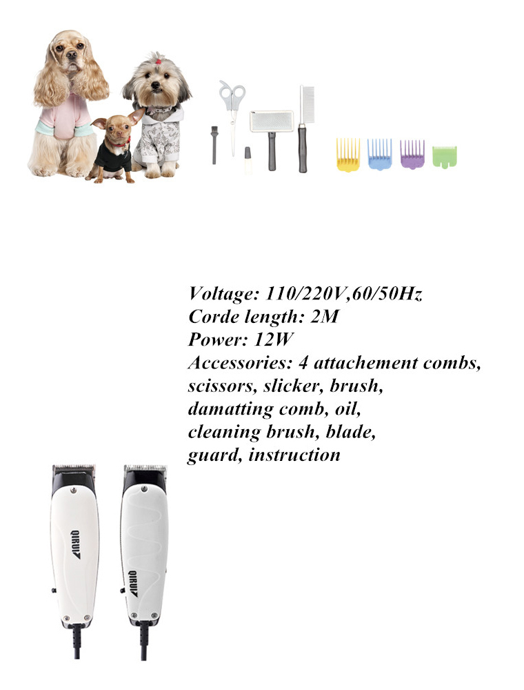China manufacturer Factory direct pet shaver