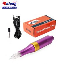 Solong cheap price hot sale tattoo machine new permanent make up rotary tattoo machine pen