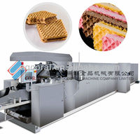Coral Wafer baking machine with factory price/Stable wafer baking equipment
