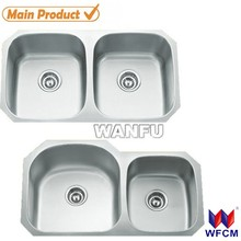 Hot sale 2 welded sink/hot sale universal stainless steel sinks/water sink for sale