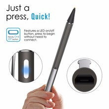 Newest active stylus pen manufacture for iPad air 2 Samsung tablet and mobile touch screen