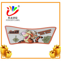 PVC custom slide sandal logo uppers for shoe making