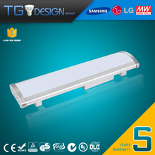 Patent Desigh IP65 Waterproof High Bay LED Linear Light 60w 130lm per Watts with 5 Years Warranty