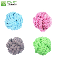 New Design Cotton Rope Ball Dog Toys for Dog Chewing and Cat Toys
