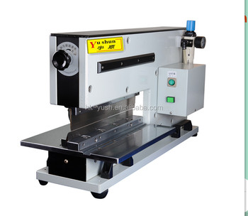 LED PCB Cutter. LED alum boards depanel machine, PCB separator YSVC-2