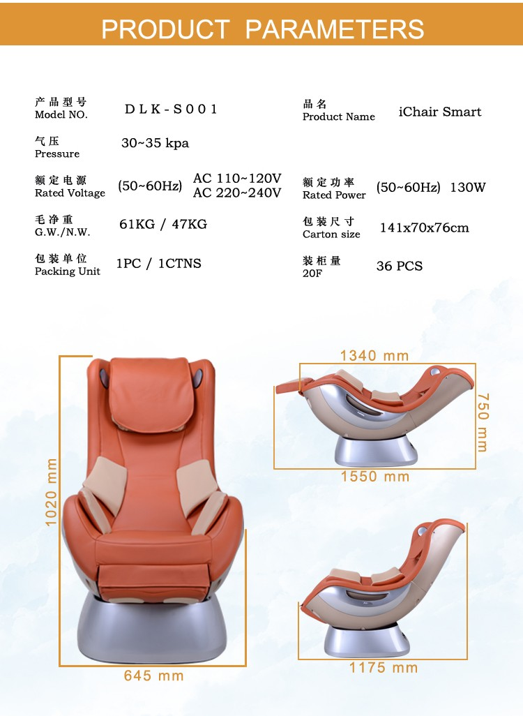 Lazy boy leather recliner sofa Luxury living room furniture best selling products DLK-S001