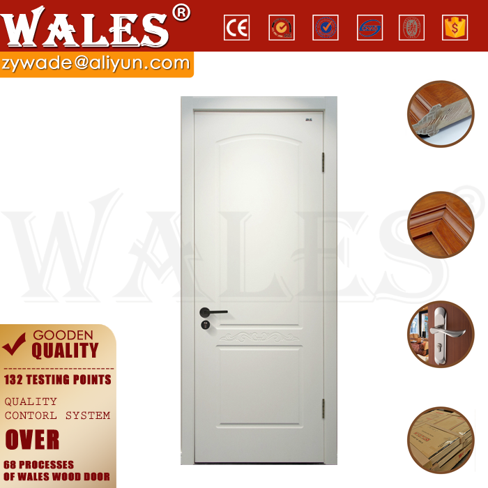 White square wood carving wood molded ventilation panel door