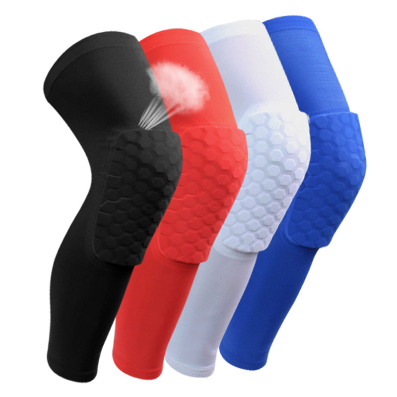 Anti-collision Elbow Knee Pads Basketball Compression Pads Elastic Knee Protector Kneepads