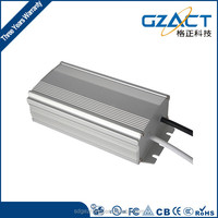 UL listed SAA CE approved ACT 12vdc 12a constant voltage 12v 150w ip67 waterproof led driver