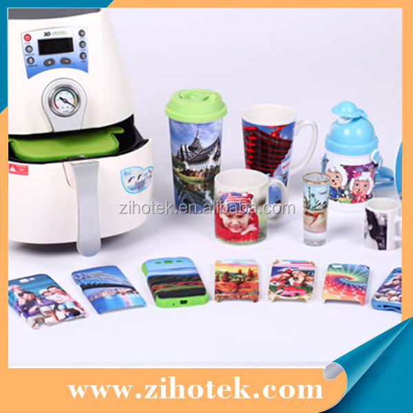 New cheap mini 3D sublimation vacuum machine heat transfer printing
