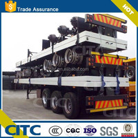 CITC Brand 3-Axle log loader trailer container home