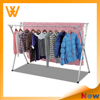 Extendable X type stainless steel Cloth Drying Rack 2015 New Style