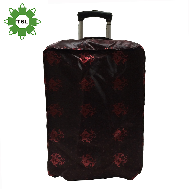 Free sample waterproof elastic suitcase cover custom travel luggage cover protective