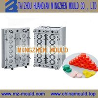 Durable promotional injection jar bottle cap mould design