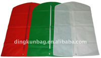 Promotion non woven recyle garment bag