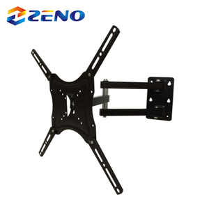Full Motion TV Wall Mount Bracket, Tilt Swivel Corner TV Mount
