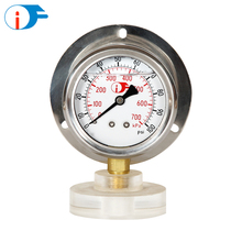 Long Service Life All Stainless Steel Oil Filled Manometer with Super Quality