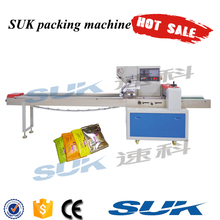 Hot sales horiozntal packaging machine for pie/bread/biscuit/cookies